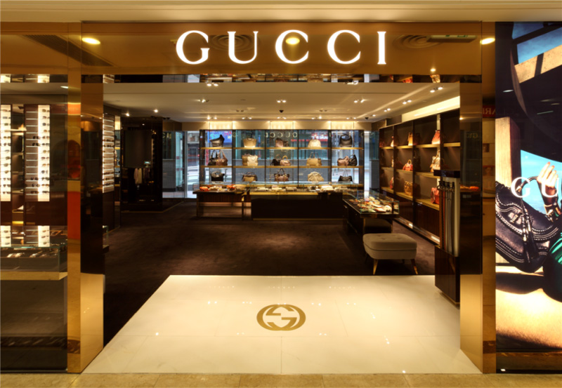 gucci reopened in sogo cwb lushgazine. Black Bedroom Furniture Sets. Home Design Ideas