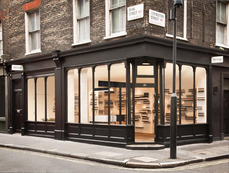 Lush design aesop london soho lushgazine for Retail design agency london
